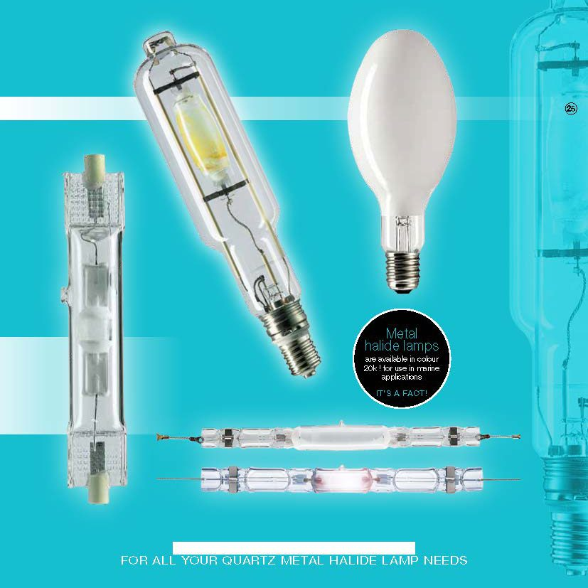 METAL HALIDE Lamps Avaliable from City Lighting Services