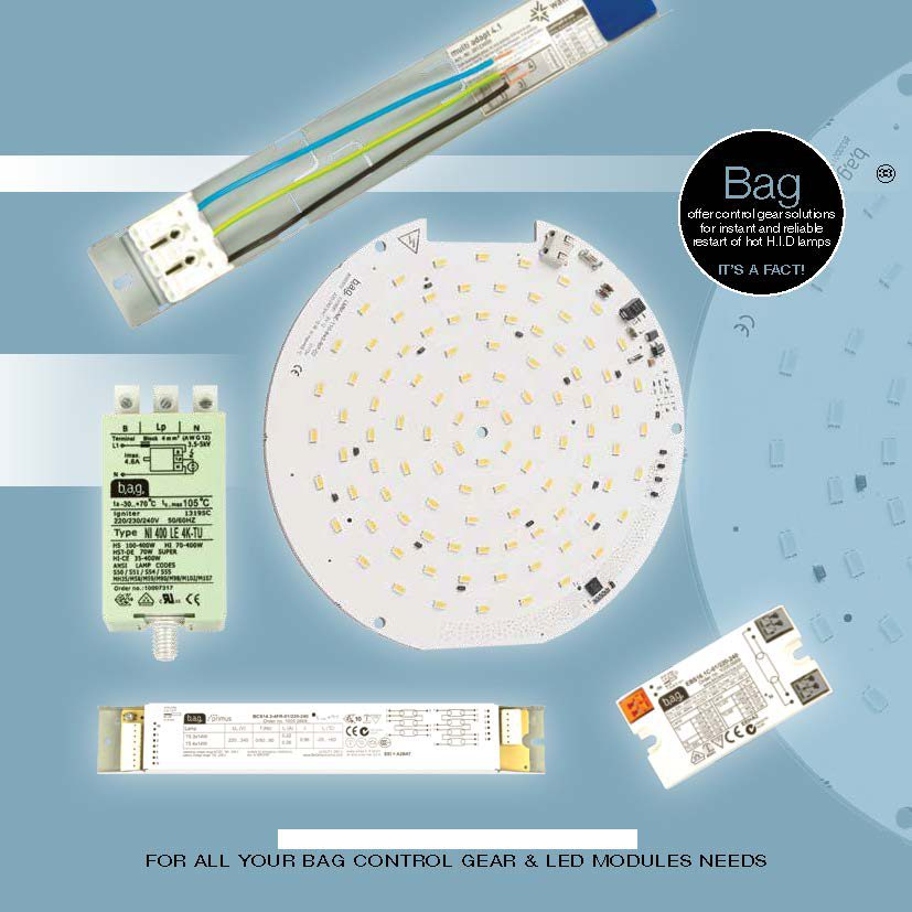 BAG CONTROL GEAR – LED MODULES from City Lighting